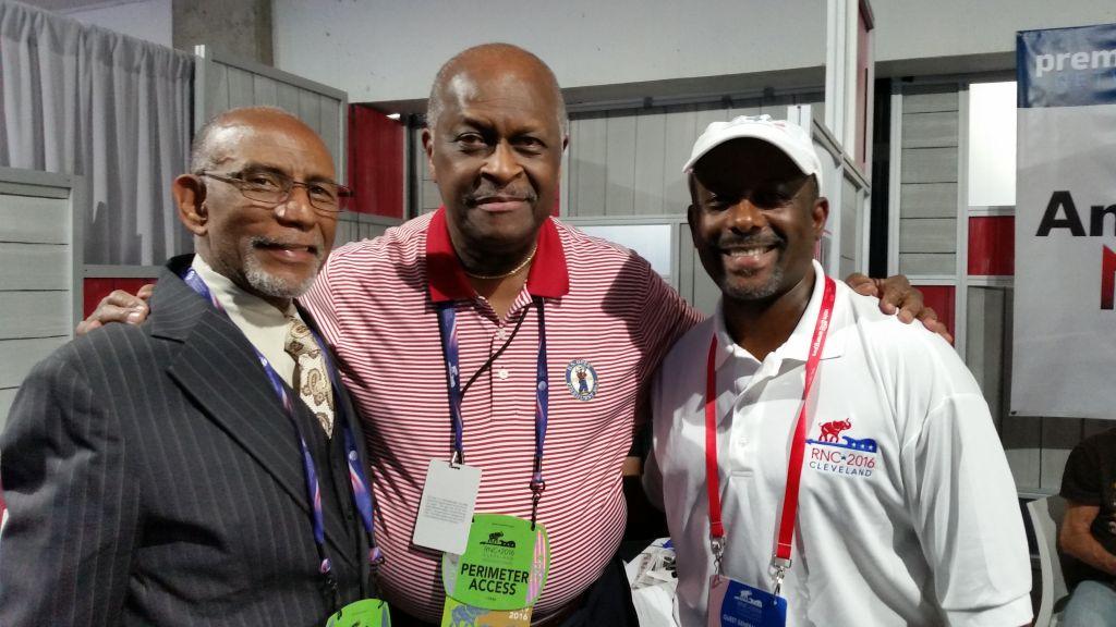 With Elbert Guillory & Herman Cain